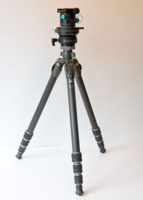 Nodal Ninja RD16-II Rotator and SunwayFoto Leveler on Gitzo Tripod