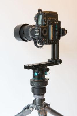 Nikon D810, Nodal Ninja M2 Panoramic Head, SunwayFoto Leveler on Gitzo Tripod