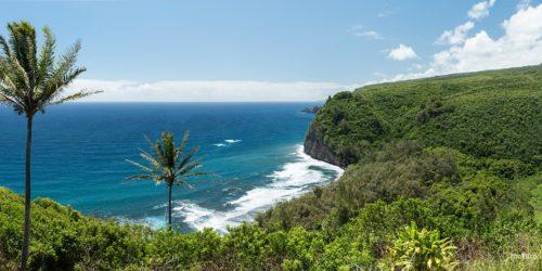 Polulu Beach - Viewed From the Top