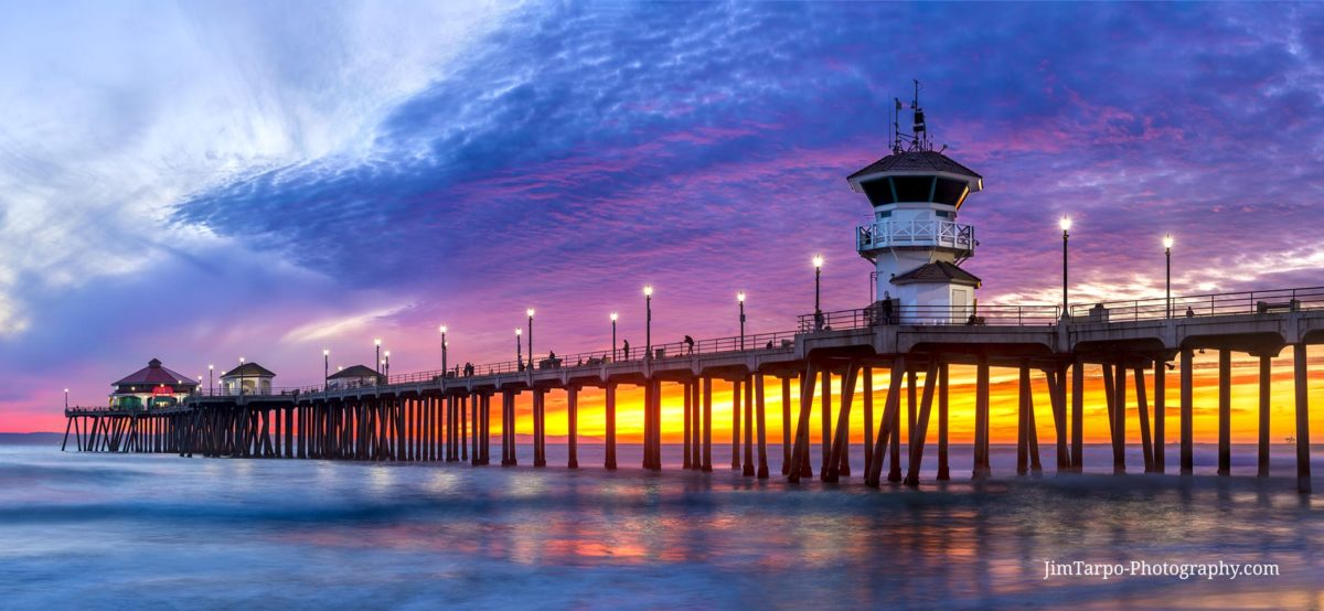Huntington_Beach_Pier_Sunset_19K