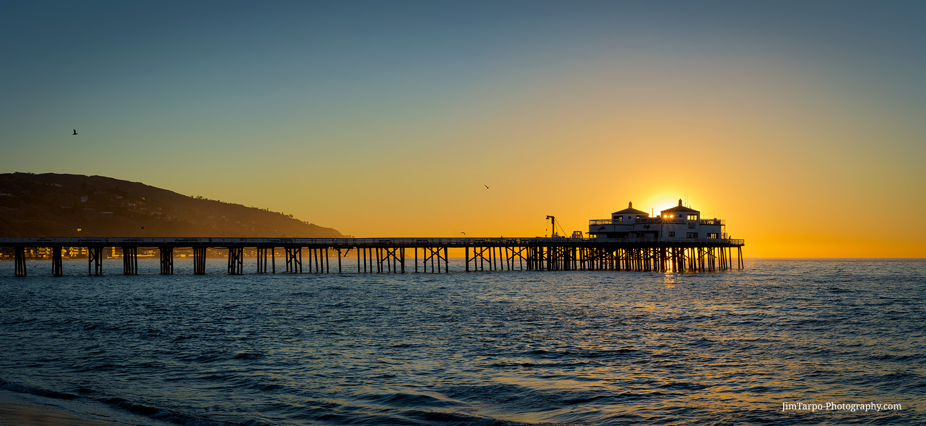 Malibu Pier Sunrise