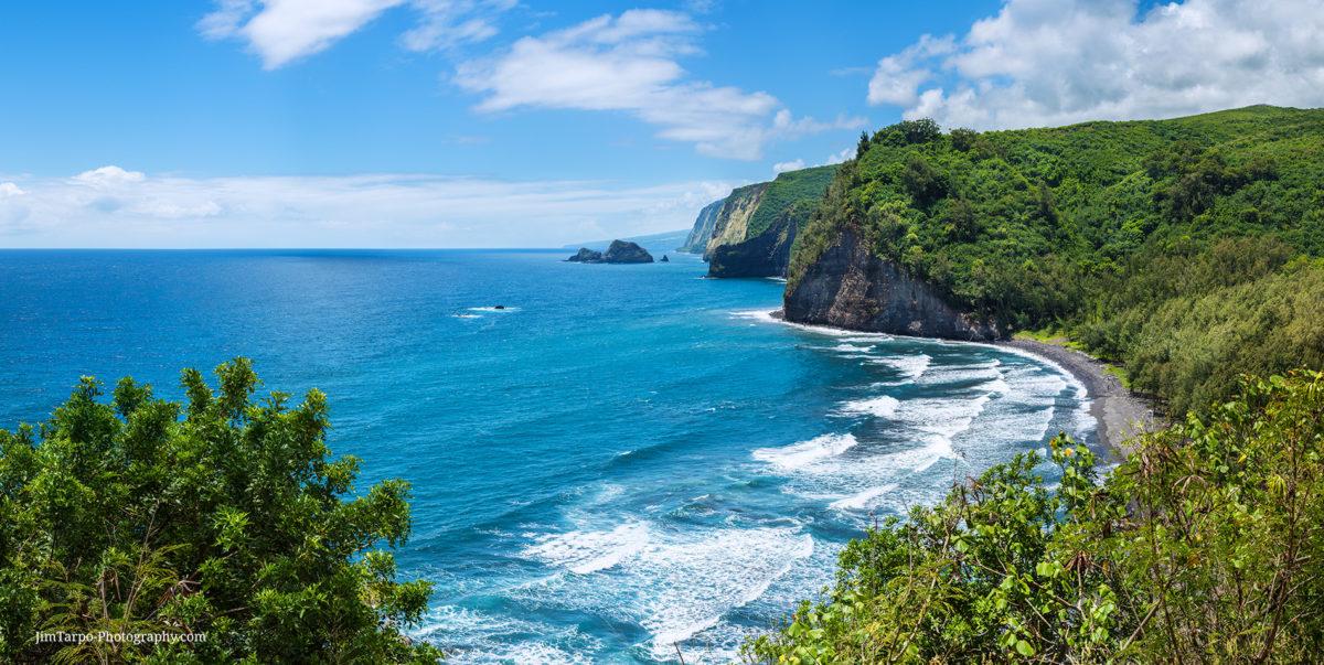 hawaii polulu beach view high resolution photo