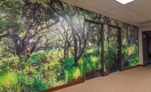 High Resolution Wall Mural Image